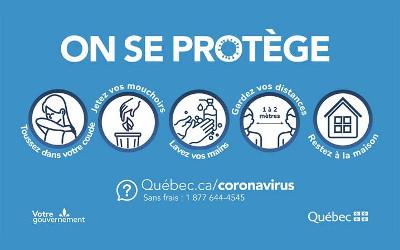Pandémie de la COVID-19: le premier ministre du Québec, François Legault, rappelle que chaque geste compte dans la bataille contre le virus