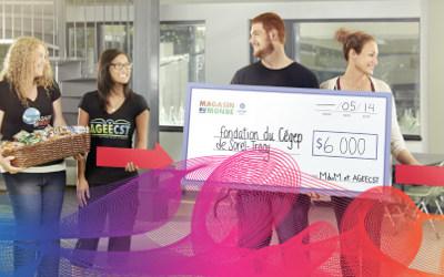 Fondation du CEGEP de Sorel-Tracy: le CEGEP de Sorel-Tracy et le Fonds Partage-Emploi Desjardins créent un fonds d'urgence temporaire pour les étudiants