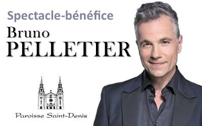 Spectacle-bénéfice avec Bruno Pelletier