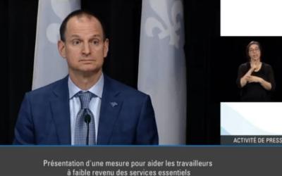 Pandémie de la COVID-19: «Nos mesures fonctionnent», assure le premier ministre, François Legault