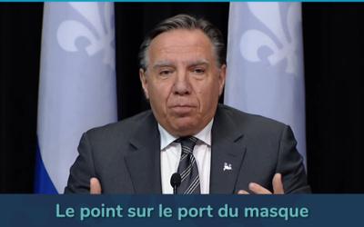 Pandémie de la COVID-19: «Ma priorité, c'est de protéger nos personnes âgées» – François Legault