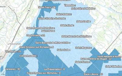 Pandémie de COVID-19: les données pour la région au 29 mai disponibles
