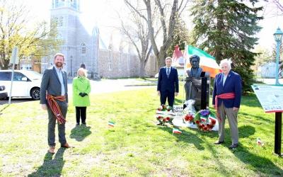 Journée nationale des Patriotes à Verchères: un hommage à Bernard Landry