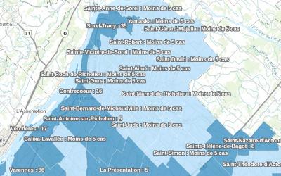 Pandémie de COVID-19: les données pour la région au 26 mai disponibles