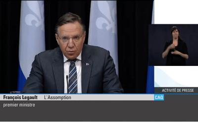 Pandémie de la COVID-19: Québec souhaite la collaboration des syndicats pour améliorer les conditions de travail dans le réseau de la santé