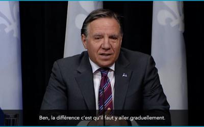 Pandémie de la COVID-19: le nombre de tests de dépistage continuera d'augmenter au Québec
