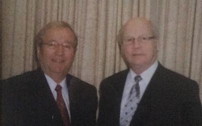 Le chef du Bloc Québécois et Louis Plamondon offrent leurs condoléances aux proches de Michel Gauthier