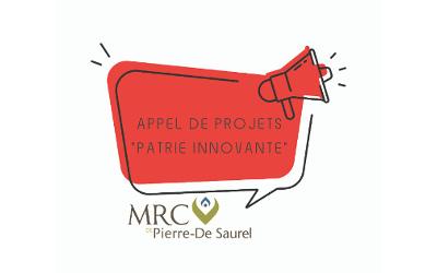 MRC de Pierre-De Saurel: appel de projets en culture – Patrie innovante