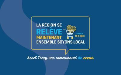 Une campagne de financement participatif pour soutenir les commerces locaux et les organismes de première ligne de la région de Sorel-Tracy