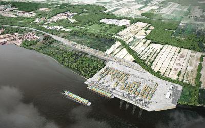 La Ville de Contrecœur prête à recevoir le projet de terminal à conteneurs