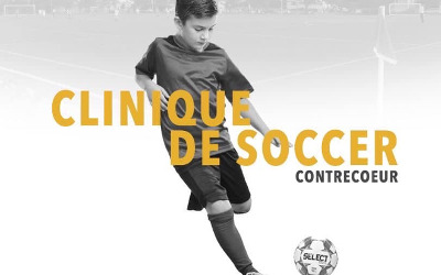 Contrecoeur: Clinique de soccer