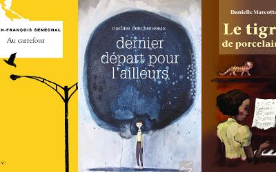Les finalistes des Grands Prix du livre de la Montérégie 2020