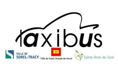 Nouveautés pour le service Taxibus