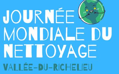 Vallée-Du-Richelieu: Journée mondiale du nettoyage – 19 septembre 2020