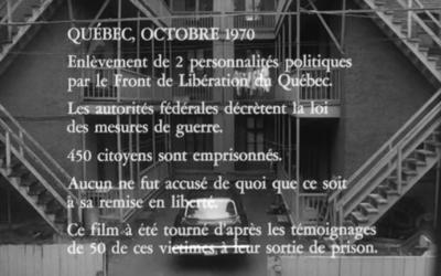 Une présentation du film Les Ordres servira à financer un monument à Bernard Landry à Verchères