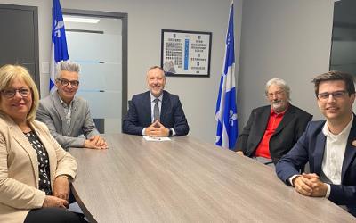 Le Canada et le Québec investissent dans les infrastructures d'eau pour assurer des services adéquats et relancer l'économie dans la circonscription provinciale de Richelieu
