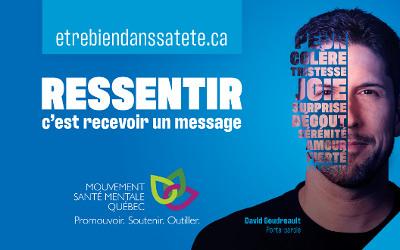 Dans le cadre de la Campagne annuelle de promotion de la santé mentale: les médias et la résilience sociale