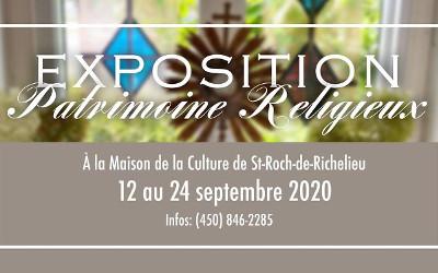 Maison de la culture de Saint Roch de Richelieu: exposition sur le Patrimoine Religieux