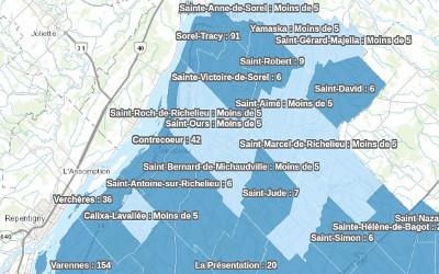 Pandémie de COVID-19: les données pour la région au 25 octobre disponibles
