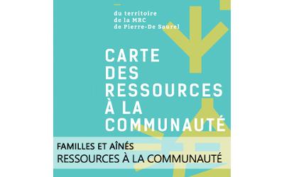 MRC de Pierre-De Saurel: une carte des ressources pour faire connaître les services à la communauté sur le territoire