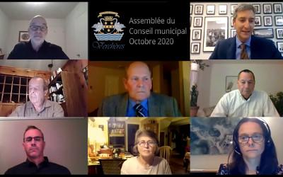 Verchères: Assemblée du Conseil municipal du 5 octobre 2020