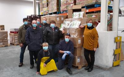 FORMEDICA: un million de masques remis aux banques alimentaires du Québec et à la SPCA de Montréal