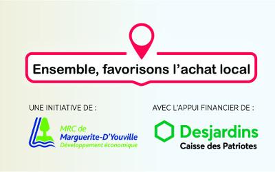 MRC de Marguerite-D'Youville:  la campagne d'achat local a porté ses fruits!