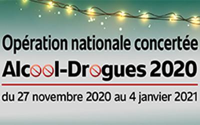 LANCEMENT DE L'OPÉRATION NATIONALE CONCERTÉE ALCOOL-DROGUES