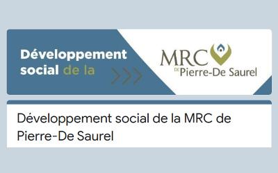 Vers une première politique territoriale en développement social pour la MRC de Pierre-De Saurel