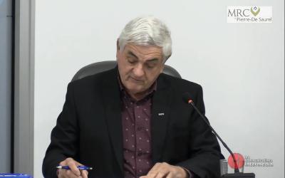 MRC de Pierre-De Saurel: retour sur la séance du 11 novembre du Conseil