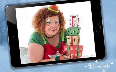 Patrie innovante: spectacle de Noël gratuit de Bouclette