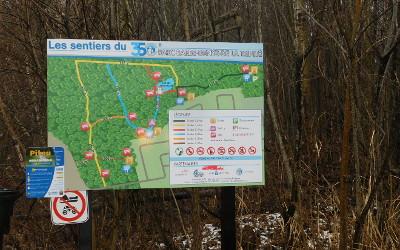 Le parc Barbe-Denys-De La Trinité à Contrecoeur: à visiter hiver comme été