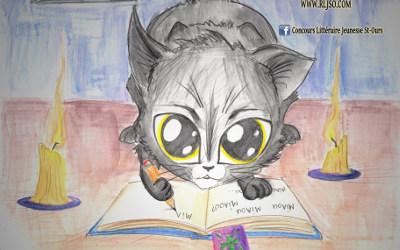 Il est toujours temps de participer: Écrire chat porte bonheur