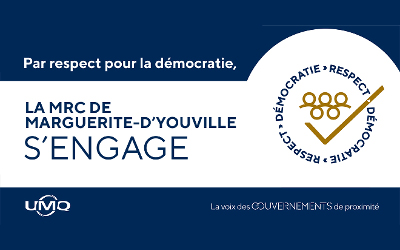 Appui sans équivoque de la MRC de Marguerite-D'Youville à une campagne nationale sur le respect de la démocratie