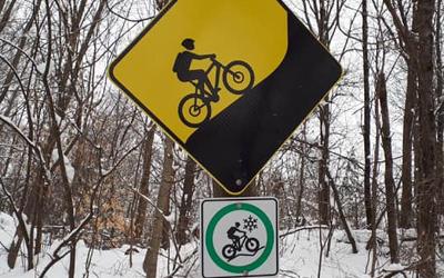 Contrecoeur: nouveaux sentiers pour le Fat bike