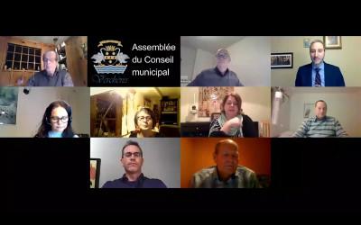 Verchères: Assemblée du Conseil municipal du 11 janvier 2021