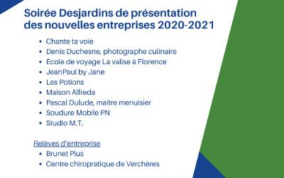 Rues principales Verchères présente ses nouvelles entreprises locales