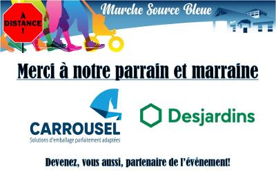 Ensemble à distance pour la Marche Source Bleue 202: le 2 mai, marchons pour la Maison de soins palliatifs Source Bleue