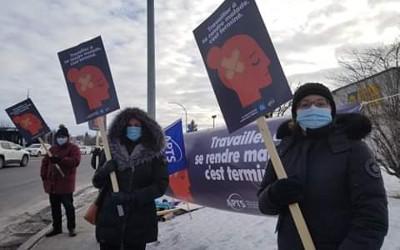L'APTS vote à plus de 90 % en faveur de la grève dans l'ensemble des établissements de la Montérégie