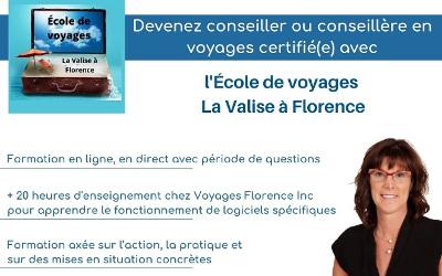 Une nouvelle entreprise de Verchères qui ose faire les choses différemment: l'École de voyages La Valise à Florence