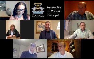 Assemblée du Conseil municipal de Verchères d'avril 2021