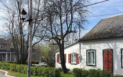 Verchères: des nouveaux lampadaires dans le Vieux village