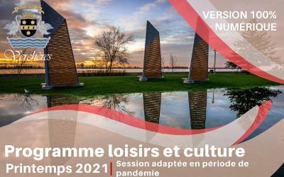 Verchères: le programme loisirs et culture printemps disponible