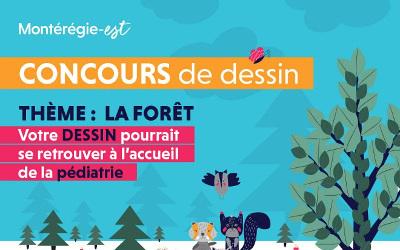 CISSS de la Montérégie-Est: concours de dessin pour les jeunes de la MRC Pierre-De Saurel