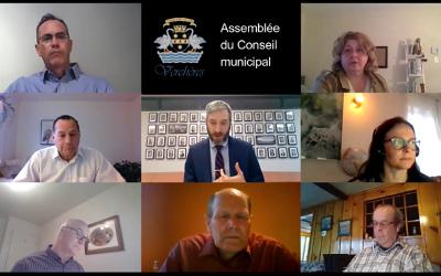 Assemblée du Conseil municipal de Verchères de mai 2021