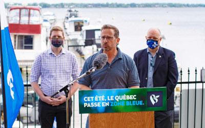 Sécurité nautique: les députés du Bloc Québécois ont navigué en toute sécurité!