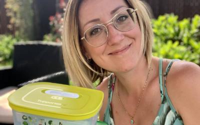 Parce qu'on a tous besoin de connaître une « madame Tupperware » et cette personne, c'est Marilyn Morin de Simplement Tupp