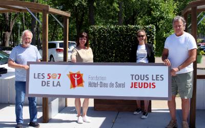 Collaboration spéciale entre le Gib Fest et la Fondation Hôtel-Dieu de Sorel