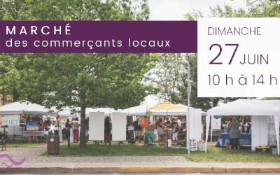 Rues principales Verchères présente son premier Marché des commerçants locaux le 27 juin prochain