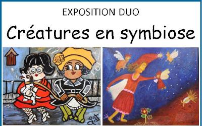 Maison de la culture de Saint-Roch-de-Richelieu: Exposition « Créatures en symbiose »